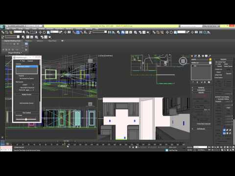 Creating a Walkthrough Animation in 3ds Max [Part 1]