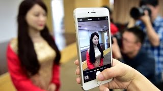 China unveils first interactive robot