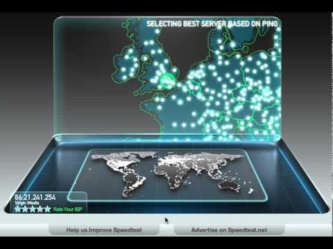 Virgin Media Broadband SpeedTest