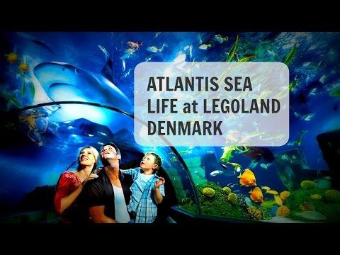 LEGOLAND Denmark ATLANTIS Sea Life 2016
