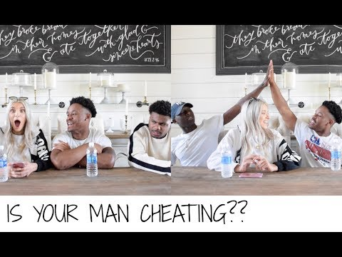 IS YOUR MAN CHEATING ON YOU?!