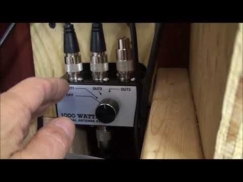 SONY HDR-SR 12 Element TV & Some 80 Meter HAM's