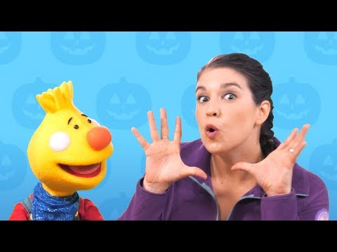Can You Make A Happy Face? | Happy Halloween from  Sing Along With Tobee