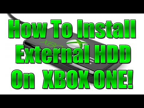 How to Install an External Hard Drive on XBOX ONE