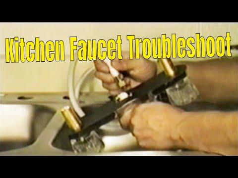 Kitchen faucet Trouble shoot 👍👍👍