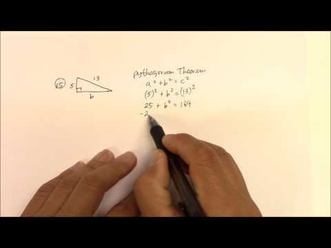 IH 005  Pythagorean Theorem Problem #15