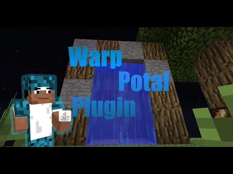 Warp Portal Plugin // Minecraft