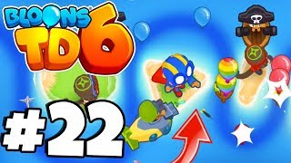 NEW* Druid Monkey DESTROYS Balloons! - Bloons Tower Defense