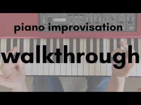 Pop Piano Improvisation Walkthrough in F Major