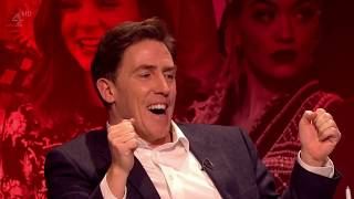 Rob Brydon trying to steal Jimmy Carr