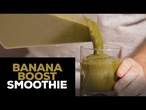 Banana Smoothie With a Boost!