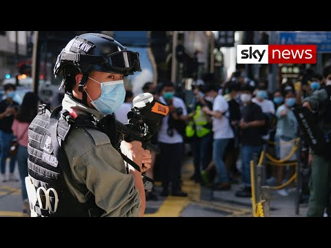 Life in jail for anyone who violates China's new Hong Kong security law