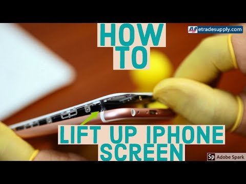 How to Lift Up iPhone 6/6s/7/Plus Screen | 2017 |