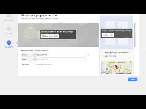 How To Setup A Google Business Page In Google Plus