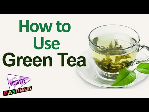 How to Use Green Tea on Your Face to Achieve Prettier Skin || Beauty Tips