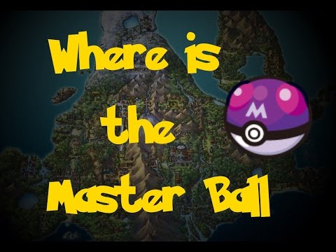 Where Is: The Masterball (Pokemon Diamond/Pearl/Platinum)