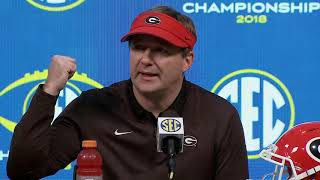 Kirby Smart gives his thoughts on whether or not Georgia should be in the College Football Playoff