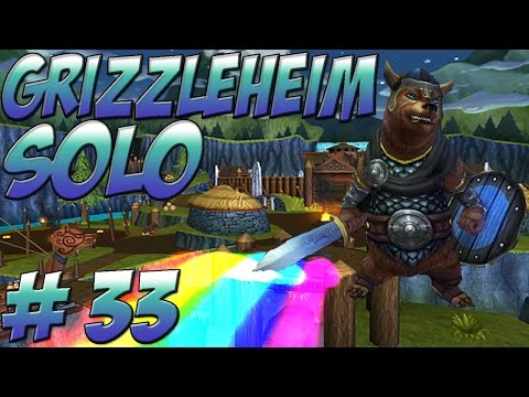 Wizard101 Solo Walkthrough - Grizzleheim - Part 33 Frostholm and Mirkholm Keep