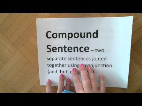 4.Compound Subjects, Compound Predicates, Compound Sentences