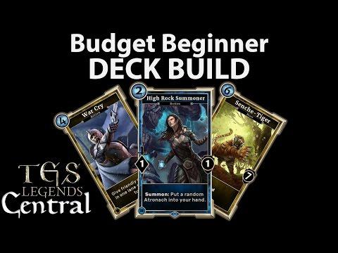 Budget Beginner DECK BUILD The Elder Scrolls Legends