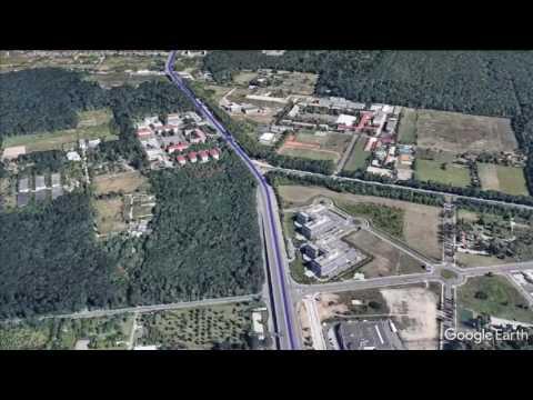 Google earth flyover