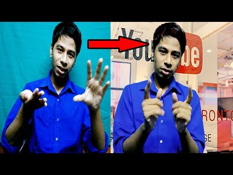 How To Change Video Background In Adobe Premiere Pro ? (Chroma Key, Remove Background) Tutorial