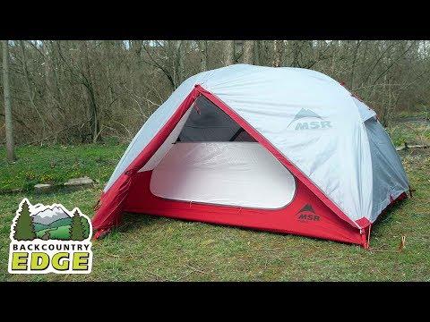 MSR Elixir 2 3-Season Backpacking Tent with Footprint