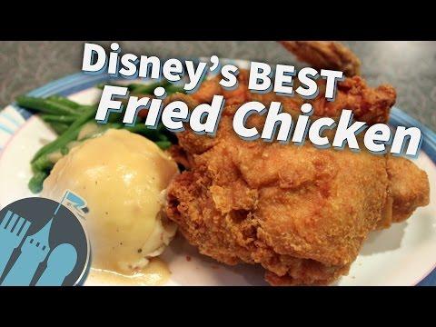 The Best Fried Chicken Around Disney!
