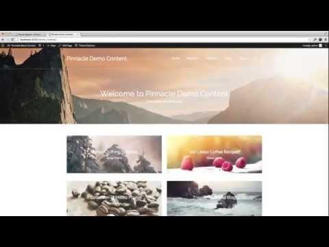 Home Page - Pinnacle Premium Wordpress Theme