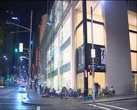 Apple Store Opening - Sydney