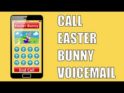 Call Easter Bunny Voicemail - iOS & Android app