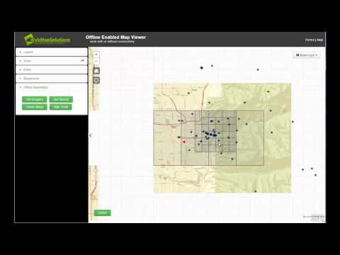 Disconnected Configurable Map Viewer
