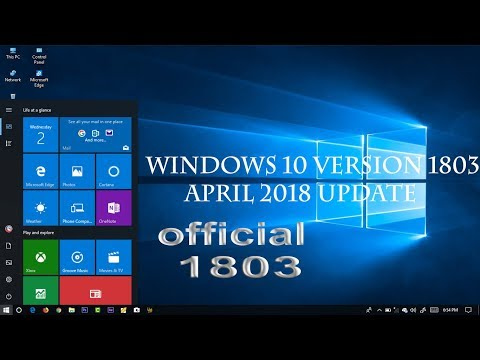 How to download and install Windows 10 version 1803 April | Spring Creators Update 2018