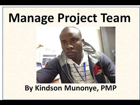 30 Project Human Resource Management Manage Project Team