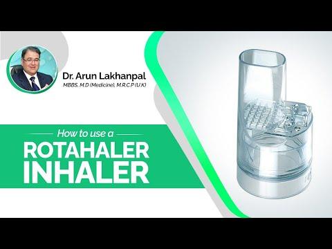 How to use a Rotacap - Dr Arun Lakhanpal, Senior Consultant (Pulmonologist)