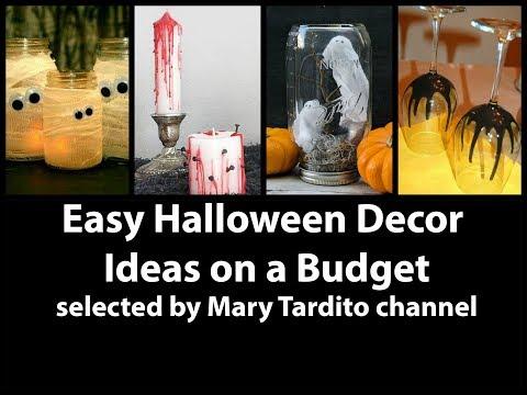 Easy Halloween Decor Ideas on a Budget