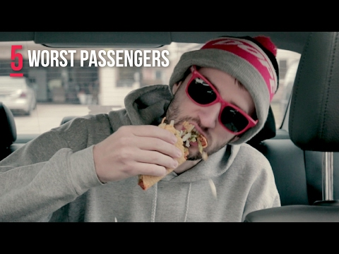 5 Worst Passenger Habits (DON'T BE THAT GUY!)