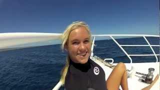 Bethany Hamilton Swimming With Sharks