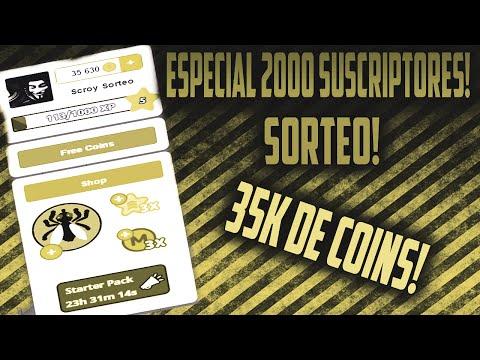 ESPECIAL 2000 SUSCRIPTORES: SORTEO 35.000 COINS DE AGAR.IO[CERRADO]