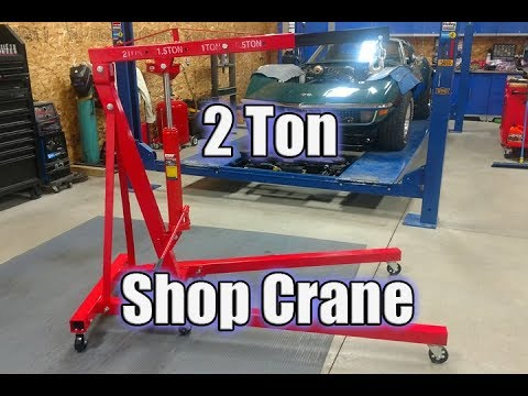 Ranger Folding Engine Hoist RSC-2TF Shop Crane Review