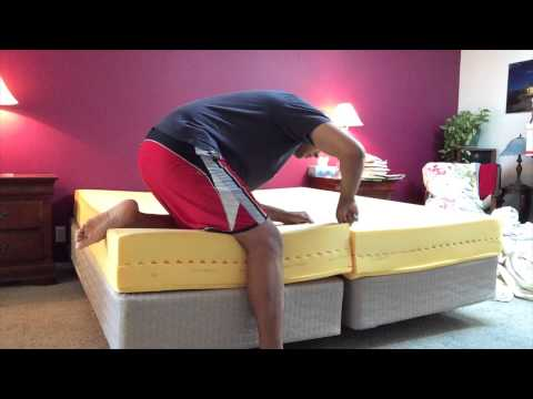 How to Cut a Memory Foam or Tempurpedic Bed in Half