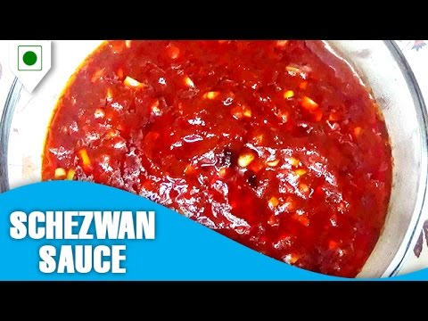 How To Make Schezwan Sauce | सेज़वान सॉस  | Easy Cook With Food Junction