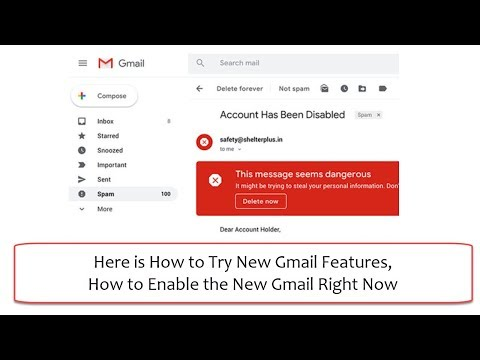 Here is How to Try New Gmail Features | How to Enable the New Gmail Right Now