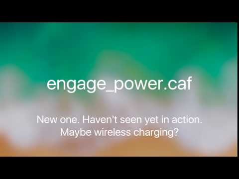 iOS 11 - New charging sounds