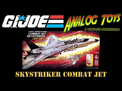 G.I. Joe Skystriker Combat Jet - Vintage Toy Review - GI Joe: A Real American Hero ARAH