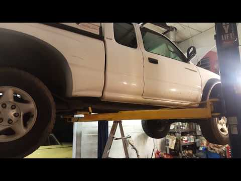 Toyota Tacoma 4WD Fix (Testing the AAD and Transfer case actuators)