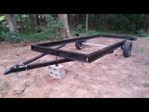 Budget 16 ft trailer build Pt 1