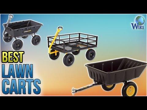 10 Best Lawn Carts 2018