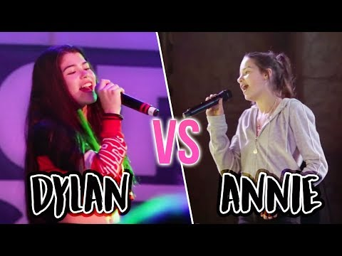 Dylan Conrique VS Annie LeBlanc SINGING BATTLE!