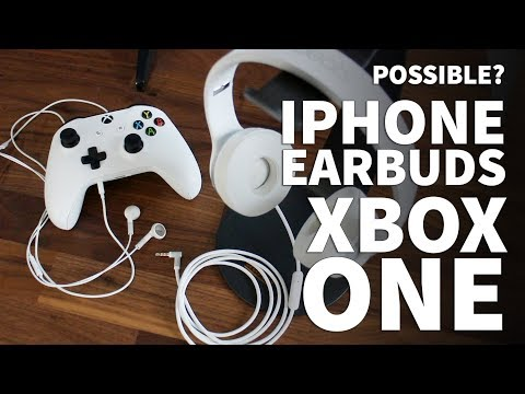 Apple Earbuds on Xbox One Mic - iPhone Earbuds Don't Work for Xbox One Mic – Beats on Xbox One